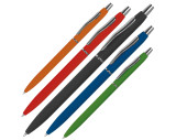 slanke rubbercoated pen