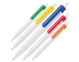Pen met gekleurde clip